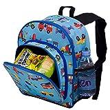 Olive Kids Trains, Planes and Trucks Pack 'n Snack Backpack
