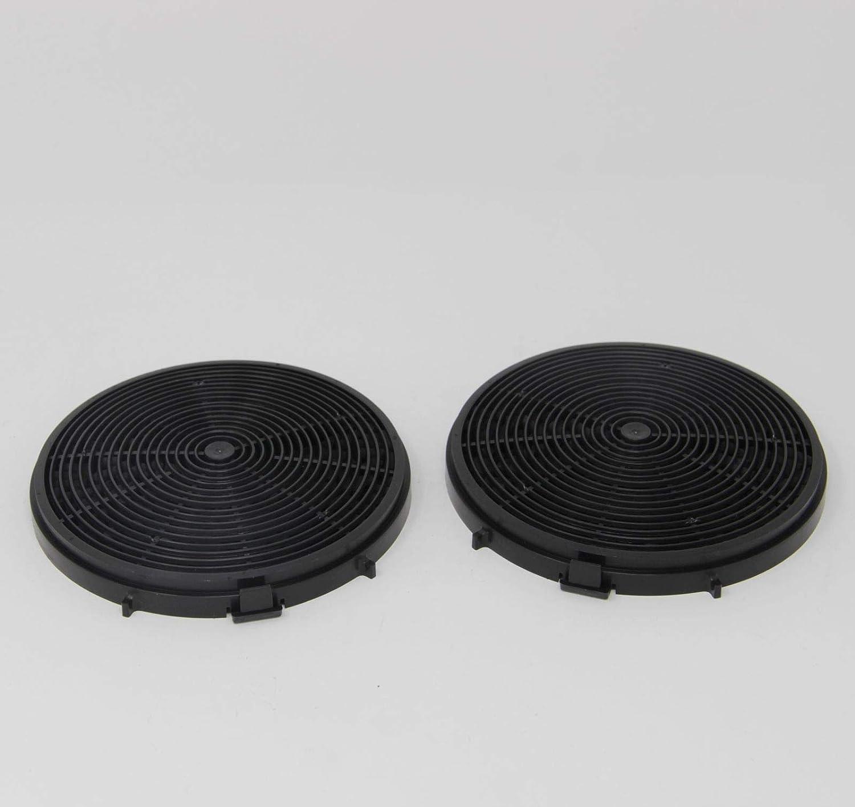 Bomann 257300 - Filtro de carbón activo para campana extractora Bomann DU 7600 y 7601 (2 unidades): Amazon.es: Hogar