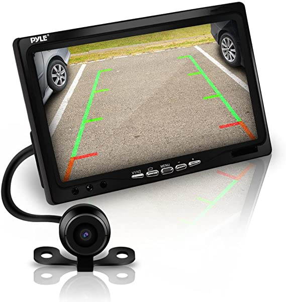 Wireless Wide Angle Parking Reversing camera 7/'/' Mirror monitor LCD next day