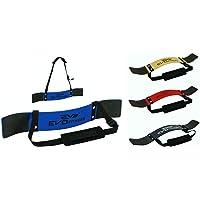 EVO Fitness Gewichtheffen Arm Blaster Biceps Isolator Gym Ondersteuning Bandjes Wraps