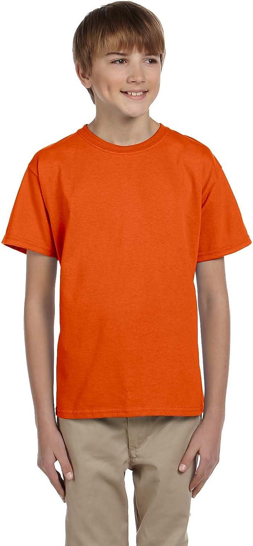 Fruit of the Loom Boys Heavy Cotton HD 100% Cotton T-Shirt