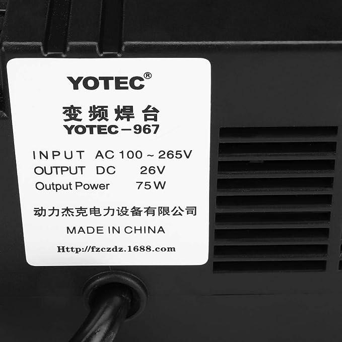 Yongse 110-265V 967 Estación de Soldadura Eléctrica de Energía SMD Juego de Soporte para Soldadura de Re-Trabajo: Amazon.es: Electrónica