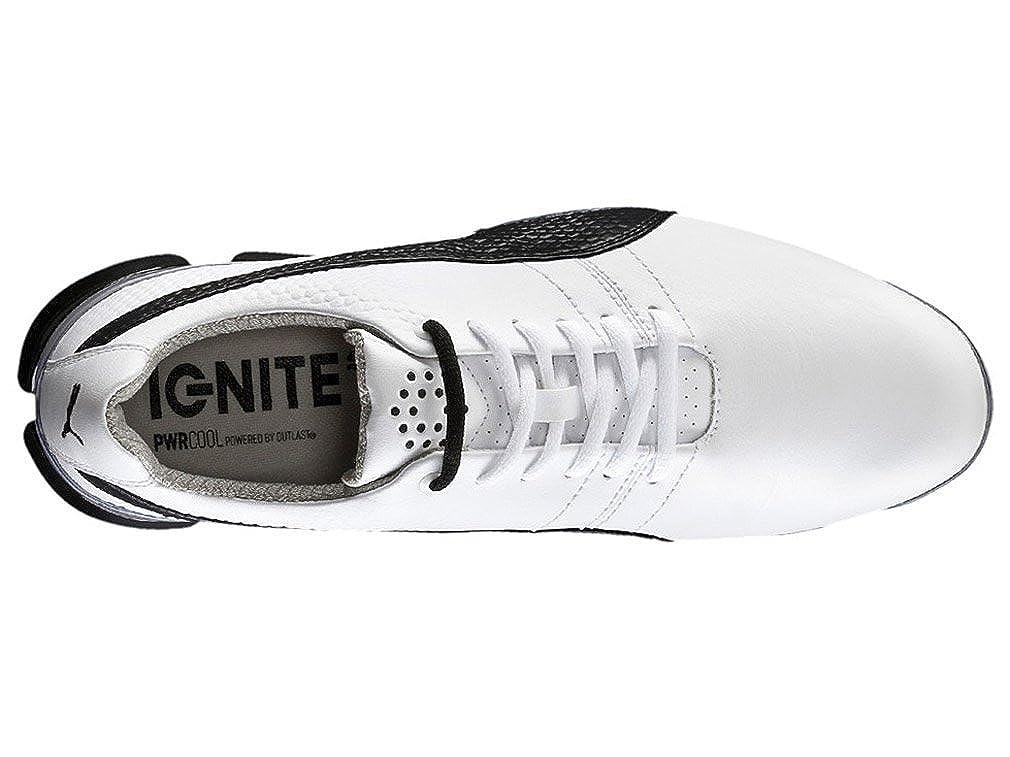 74b1715535db81 Puma Titantour Ignite Men Golfschuhe Golf white leather 188656 03   Amazon.co.uk  Shoes   Bags