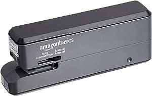 AmazonBasics Electric Stapler - 20 Sheets, Black