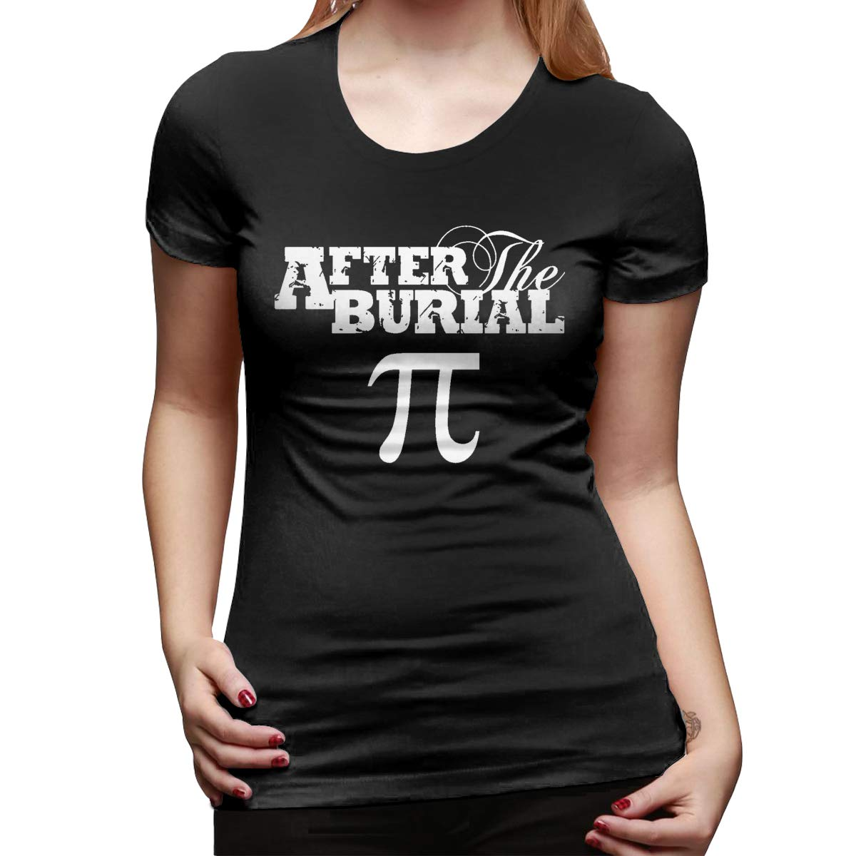 Spower.tee After The Burial Logo Cool T-shirt Black With Short Sleeve
