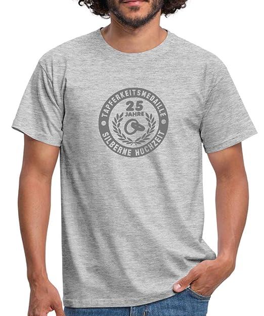 Herren 3D Motiv T-Shirt Schrift Meliert Muster Print Biker Kurzarm Shirt O-Neck