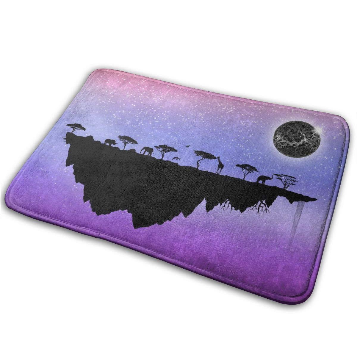 Amazon.com: NiYoung Pace Elephant Giraffe Moon Island Purple ...