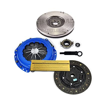 Amazon.com: EFT STAGE 1 CLUTCH KIT & CAST FLYWHEEL 93-97 TOYOTA COROLLA 1.6L 1.8L GEO PRIZM: Automotive