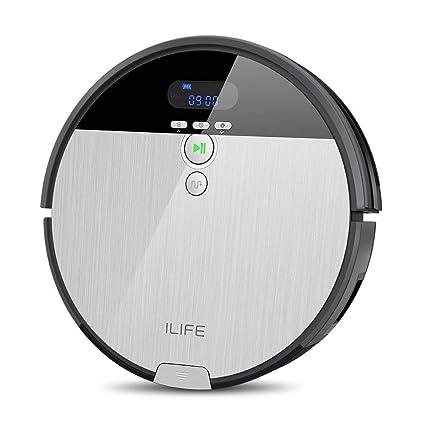 ILIFE ILIFE V8s - Robot Aspirador, Color Plateado y Gris: Amazon.es ...