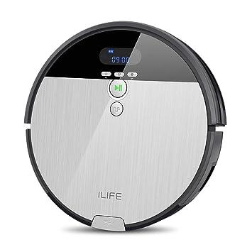 ILIFE ILIFE V8s - Robot Aspirador, Color Plateado y Gris: Amazon.es: Hogar
