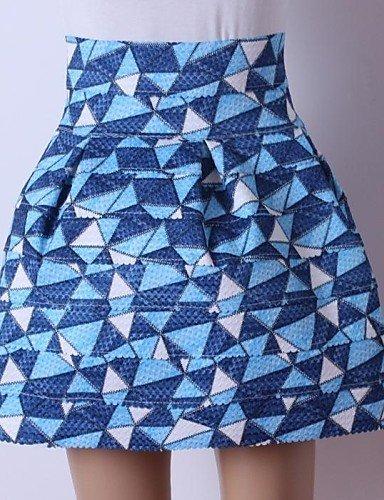 GSP-Frauen hohe Taille Art und Weise dünnen Röcke