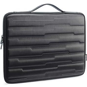 DOMISO Funda para Ordenador portátil Resistente a los Golpes de 13,3 Pulgadas con Funda Protectora con manija Compatible con Apple MacBook Air de 13