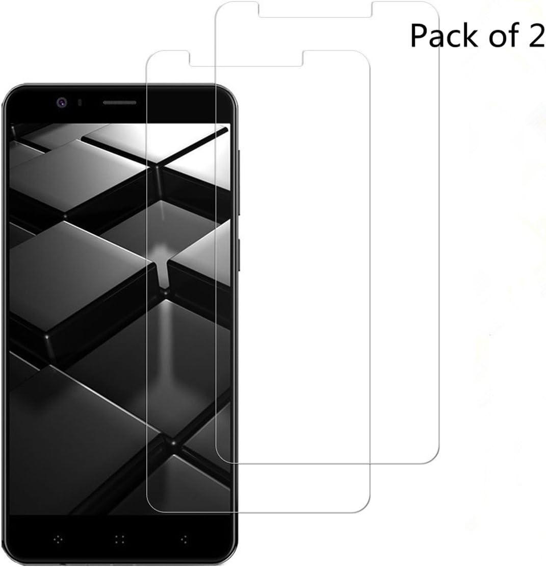 2-Pack] Elephone P8 Mini Protector de pantalla protector de ...