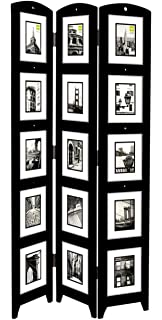 kiera grace triple panel floor photo screen 33 by 645 inch holds 15
