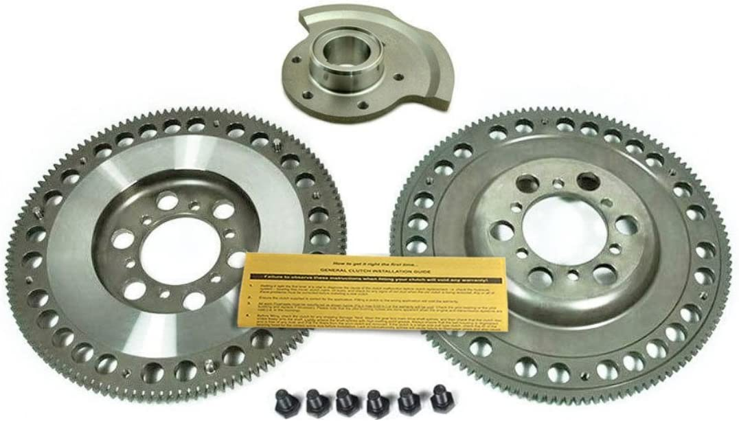 EFT CLUTCH FLYWHEEL+COUNTER WEIGHT BALANCE FOR 86-12//88 MAZDA RX-7 TURBO