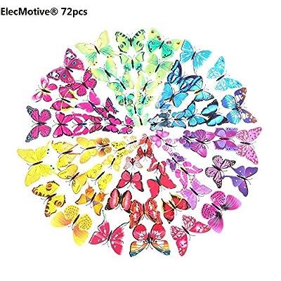 Pegatinas de Mariposas Multicolores