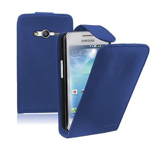 14 opinioni per Membrane- Blu Custodia per Samsung Galaxy Ace 4 (SM-G357 / G357FZ)- Flip Case