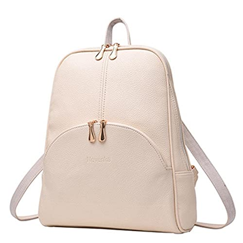 VHVCX Las mujeres mochila mochilas de cuero Softback Estilo de los bolsos del bolso Marca de muy buen gusto bolsa casual Mochilas Mochila adolescentes Sac, ...