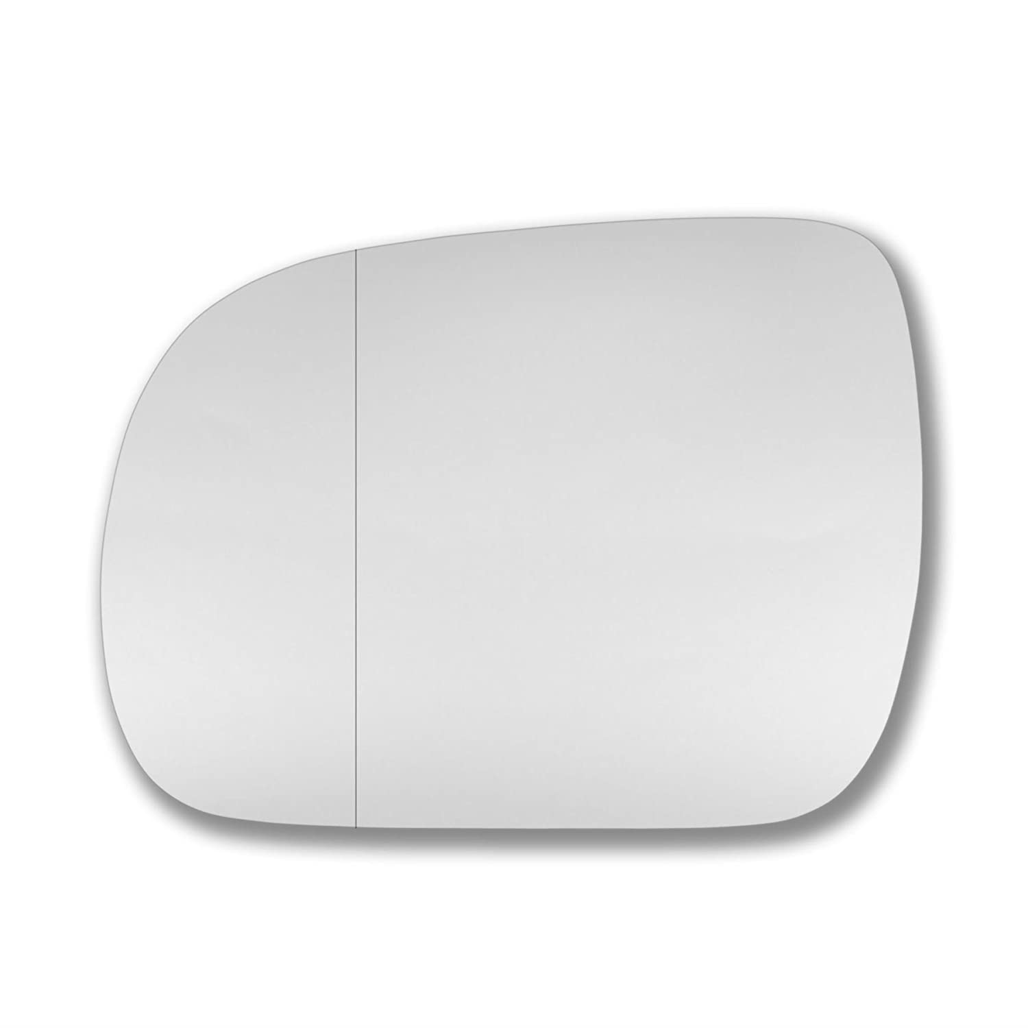 LeRx Left side wing mirror glass Real glass,door stick on mirror replacement Passenger side quick fix silver #LeRx-03//09-L/_wa