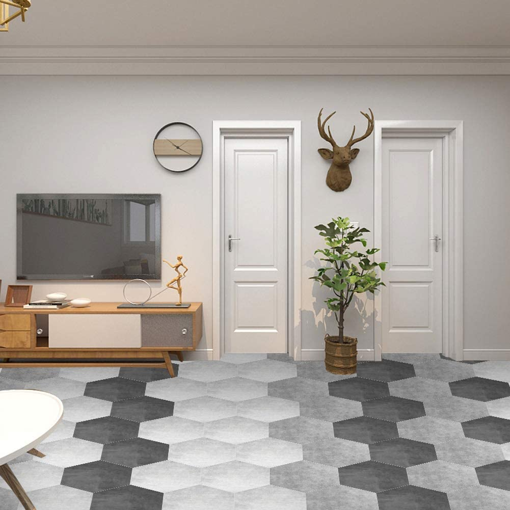 A Mazhar Adesivi per Piastrelle Adesivo Diagonale Autoadesivo Adesivi murali per Pavimenti Adesivo per Piastrelle Piastrelle per Bagno Piastrelle 3D Decalcomanie Home Decor