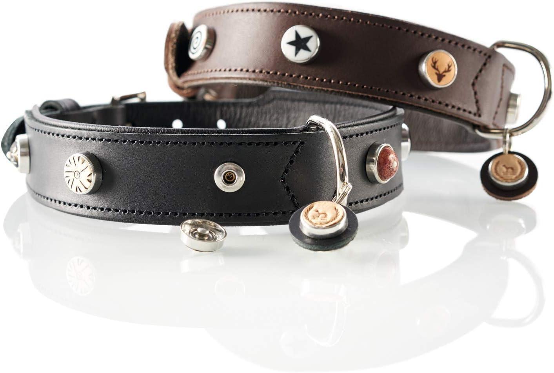 talla del fabricante: L Negro Collar Perro Red Dingo Plain Black
