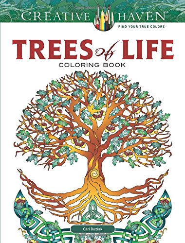 Creative Haven Trees Life Coloring product image