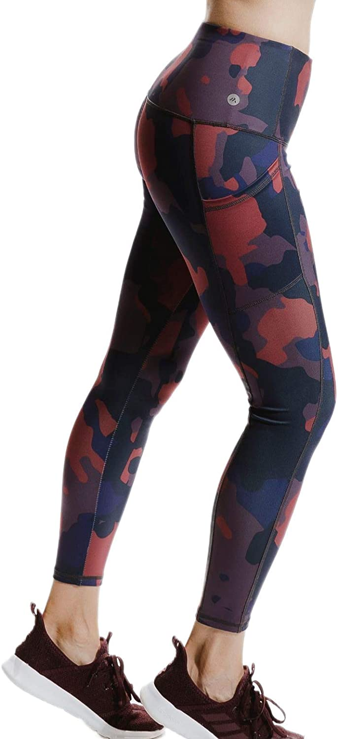Alexo Athletica Freedom Same day shipping Free shipping anywhere in the nation Camo Highwaisted Leggings Waistband