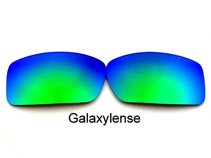 Galaxy lentes de repuesto para Oakley Gascan verde vidrios color Polarizados.
