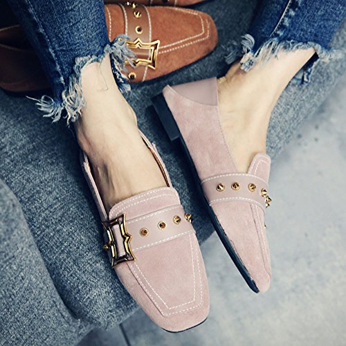 Low Mujer Antideslizante Shoes Resistente Dos heeled Peas Feifei color Tamaño De cn36 Para Sole Elegir Al Eu36 Desgaste Frosted Vintage Zapatos 02 02 uk4 The Summer New Colores 5aqIvPWw