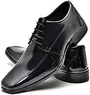 Sapato Social Com Cadarço Masculino Top Flex R804DB