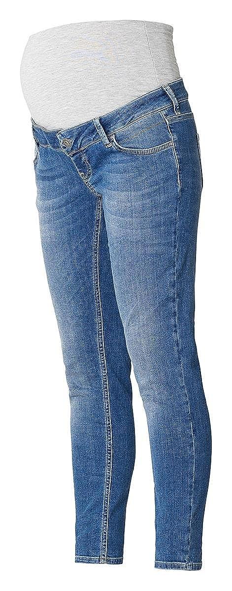 Queen Mum Damen Slim-Fit-Umstandsjeans Jeanshose Vivi 7100310