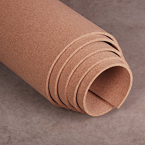 Natural Cork Roll 4' x 8' x 3/8'' by Manton Cork - Proudly Made in USA