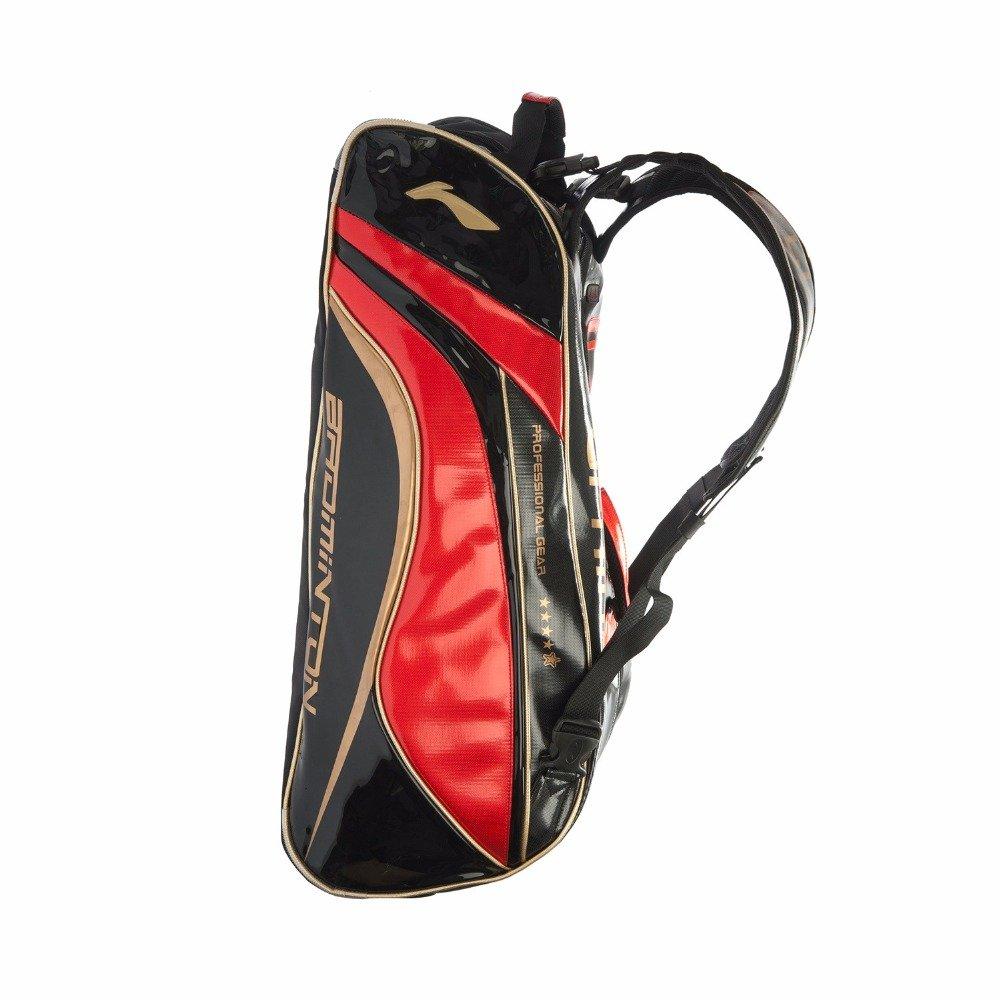 Li-Ning Badminton Rackets Bag 9 Racquets Load China Badminton National Team Use