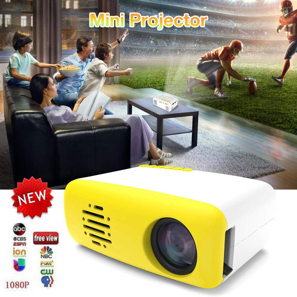 SinceY - Mini proyector portátil, proyector LED Pico, Compatible ...