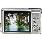 Kolylong 18 Mega Pixels CMOS 2.7 inch TFT LCD Screen HD 720P Digital Camera (Silver)