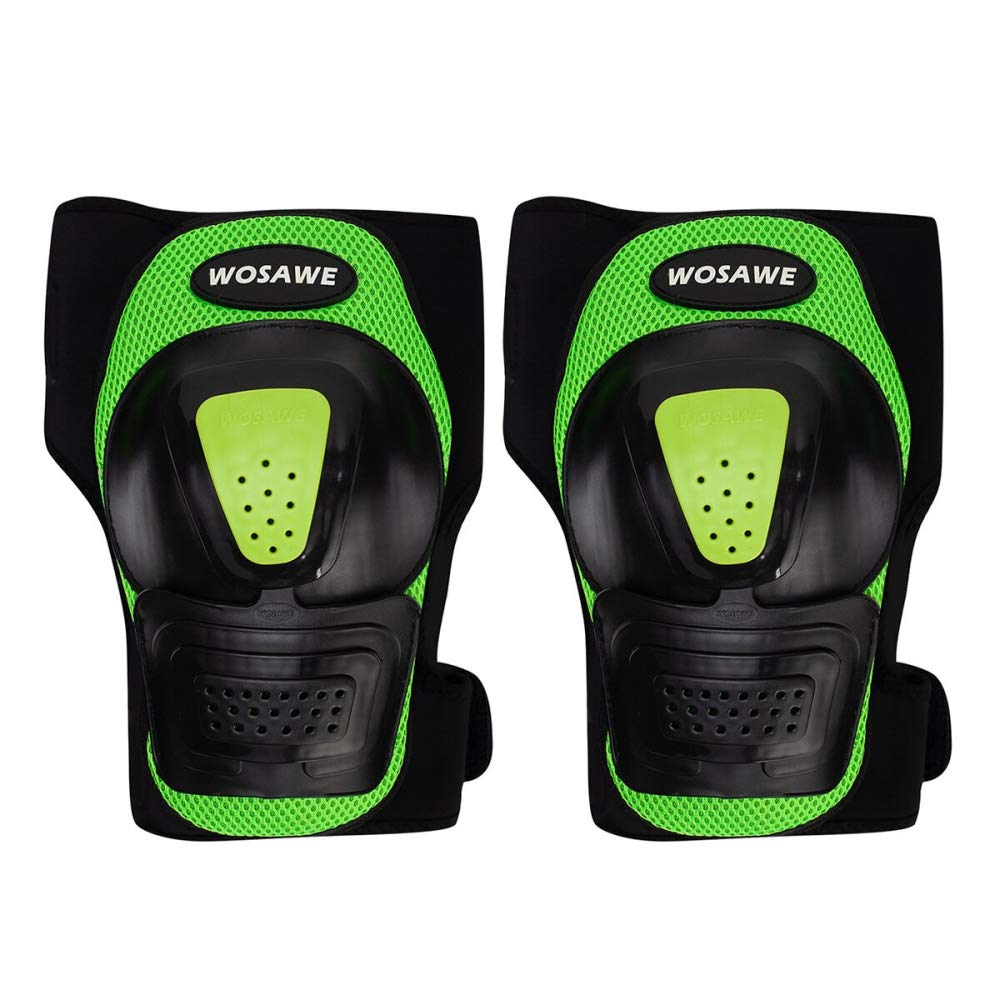 Beetle LLC - 1Pair Extreme Sports Knee Pads Brace Support Protect PE shell Roller Skateboard Motorcycle Riding Knee Protector Kneepad
