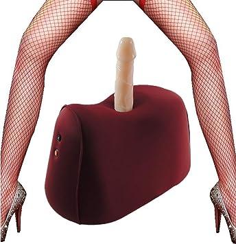 Máquina silla sexual lujo con consolador silicona y control ...
