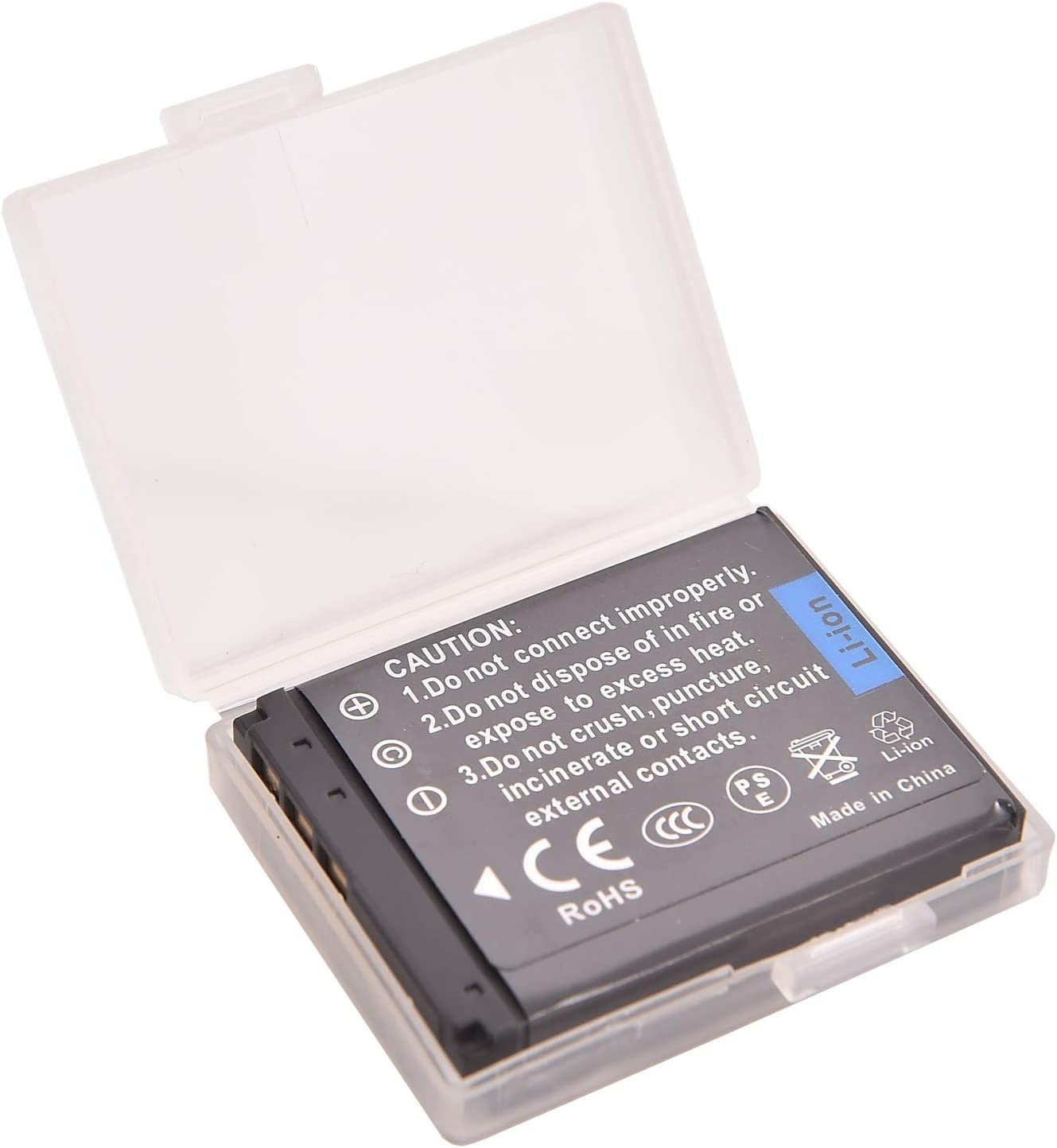 DSTE/® 2x NP-FR1 Rechargeable Li-ion Battery for Sony Cyber-shot DSC-F88 DSC-P100 DSC-P100//L DSC-P100//LJ DSC-P100PP DSC-P100//R DSC-P100//S DSC-P120 DSC-P150 DSC-P150//B DSC-P150//L DSC-P150//S DSC-P200 DSC-P200//B DSC-P200//R DSC-P200//S Camera