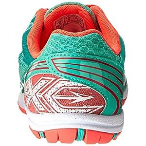 Saucony Women's Kilkenny XC5 Shoe Cross Country Spike Shoe,Aqua/Vizi Coral,5.5 M US