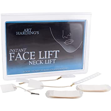 New instant facelift and necklift face neck lift kit tapes anti new instant facelift and necklift face neck lift kit tapes anti ageing strips by emmy award solutioingenieria Choice Image