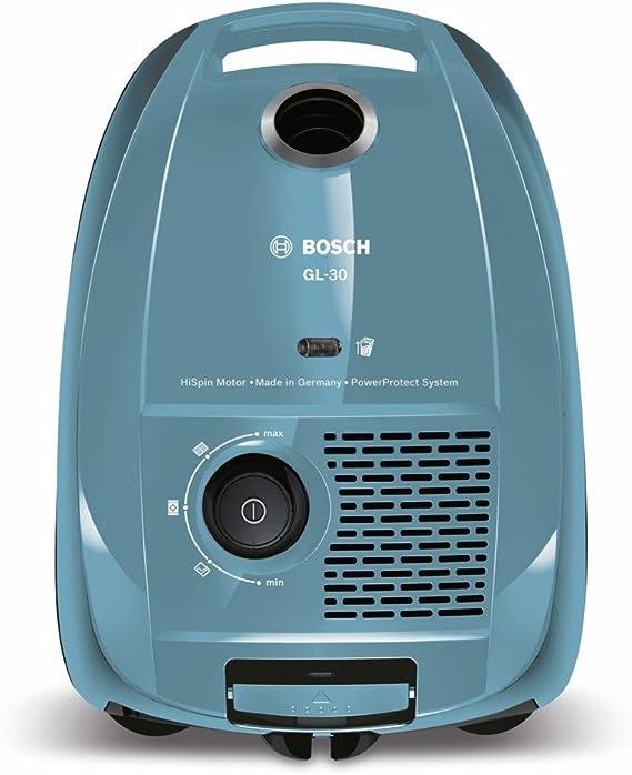 Bosch BGL3A212 GL-30 - Aspirador con bolsa compacto, 600 W, sistema PowerProtect, color azul claro: Amazon.es: Hogar