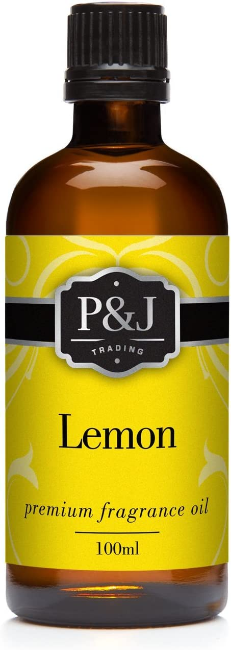 Lemon Fragrance Oil - Premium Grade Scented Oil - 100ml/3.3oz