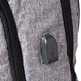 KAKA Backpack for 17-Inch Laptops - Black