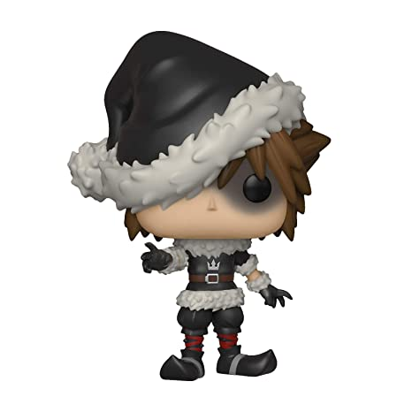 Kingdom Hearts Disney Figure Sora Christmas Town Funko Pop ...