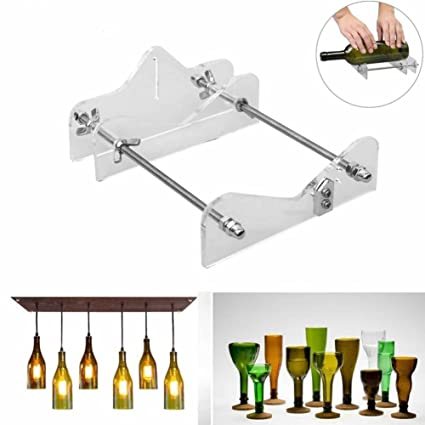 SODIAL Glass Cutter Tool Professional para botellas de corte de vidrio Bottle-Cutter Herramientas de corte de bricolaje Machine Wine Beer Bottle