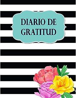 Diario de Gratitud: Libreta de Notas para escribir tus pensamientos de gratitud, 8.5 x