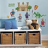 RoomMates RMK1267SCS Dragon Hunter Peel & Stick Wall Decals