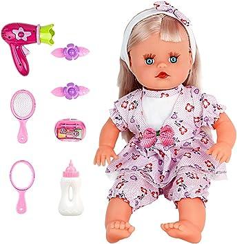 Baby Alive tanti stili BABY-BIONDA BAMBOLA con vestiti e accessori