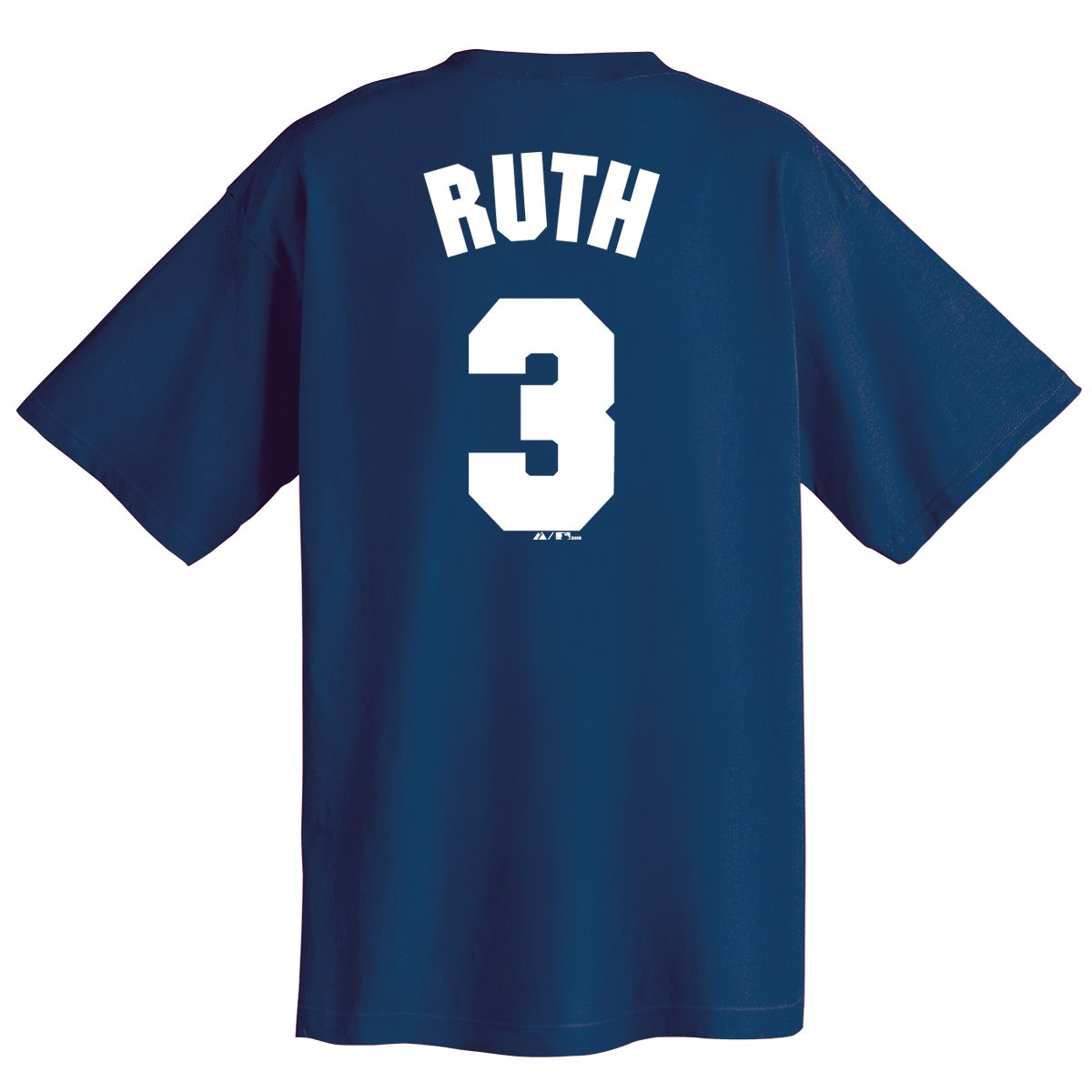 the best attitude c09a2 a9934 Babe Ruth New York Yankees Cooperstown Name and Number T-Shirt
