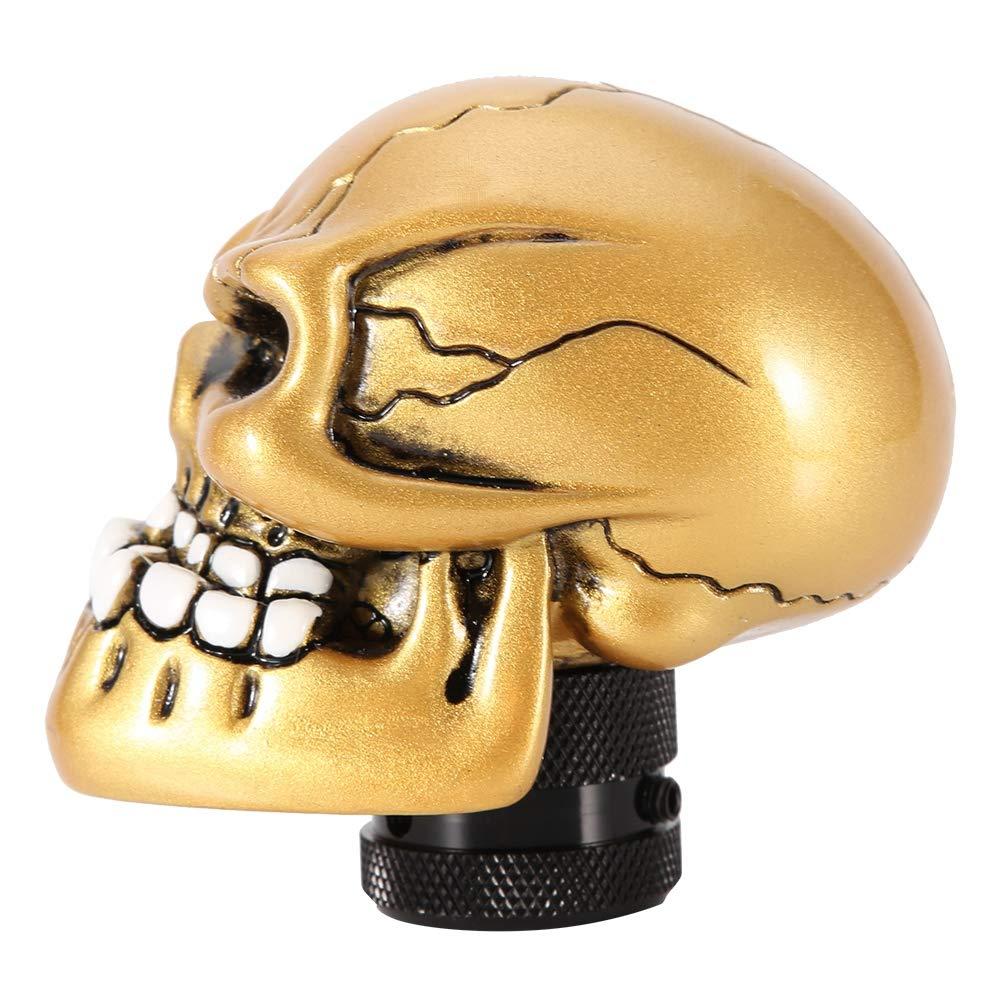 squelette de t/ête de mort squelette modifi/é en vitesse modifi/ée par le levier de vitesse du levier de vitesses universel Aramox Levier de commande de vitesse violet